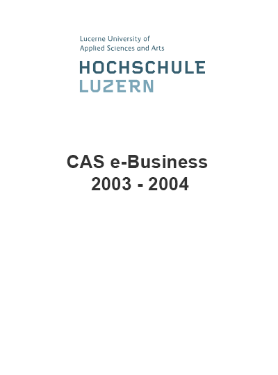CAS e-Business